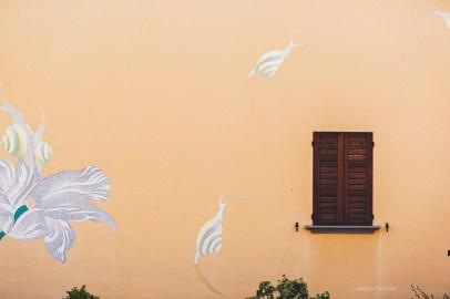 Dozza mural close up