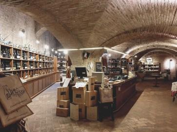 Dozza wine cellar Enoteca