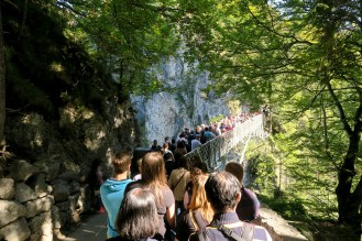 Germany road trip Neuschwanstein castle queue line