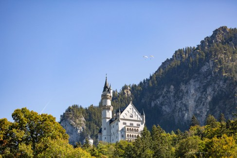 Germany road trip beautiful Neuschwanstein castle
