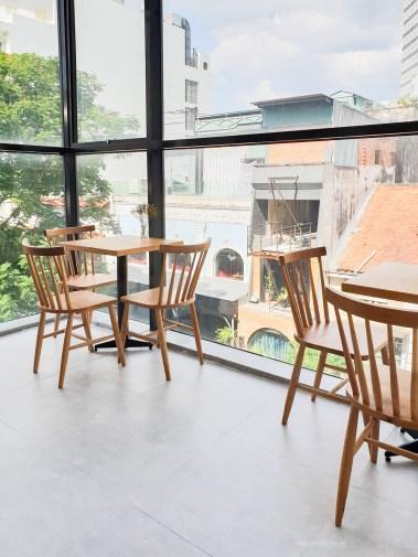 Infinity Cafe HCMC seats