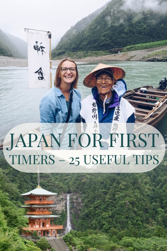 Japan for first timers - 25 useful tips