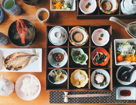Japanese food doesn't mean just sushi