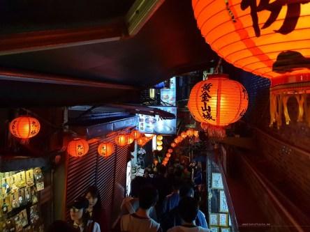 Jioufen lanterns