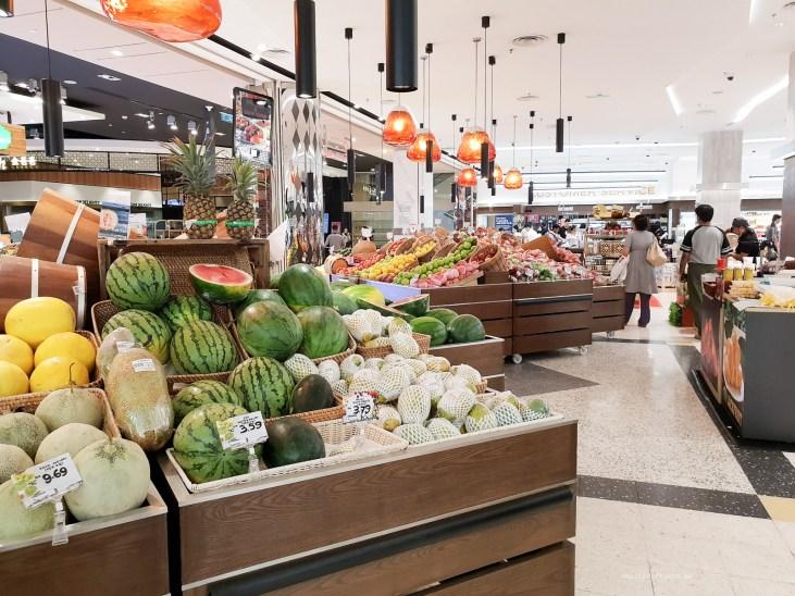 KL shopping fruit
