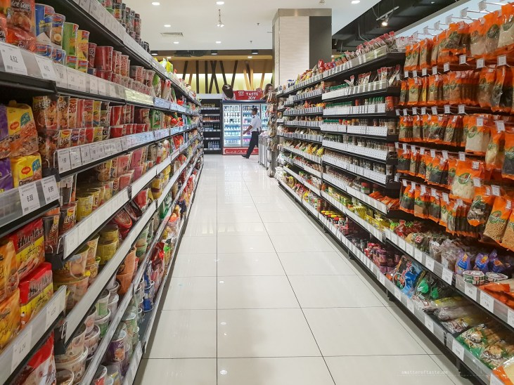 KL shopping supermarket