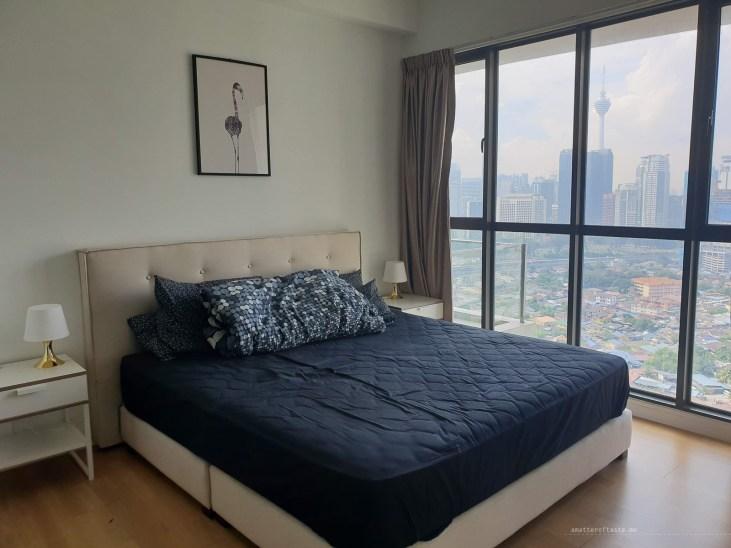 Kampong Baru Malaysia KL apartment bedroom