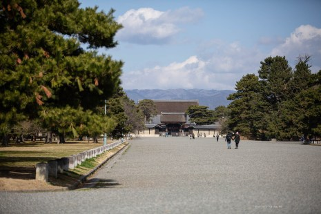 Kyoto Imperial Palace garden
