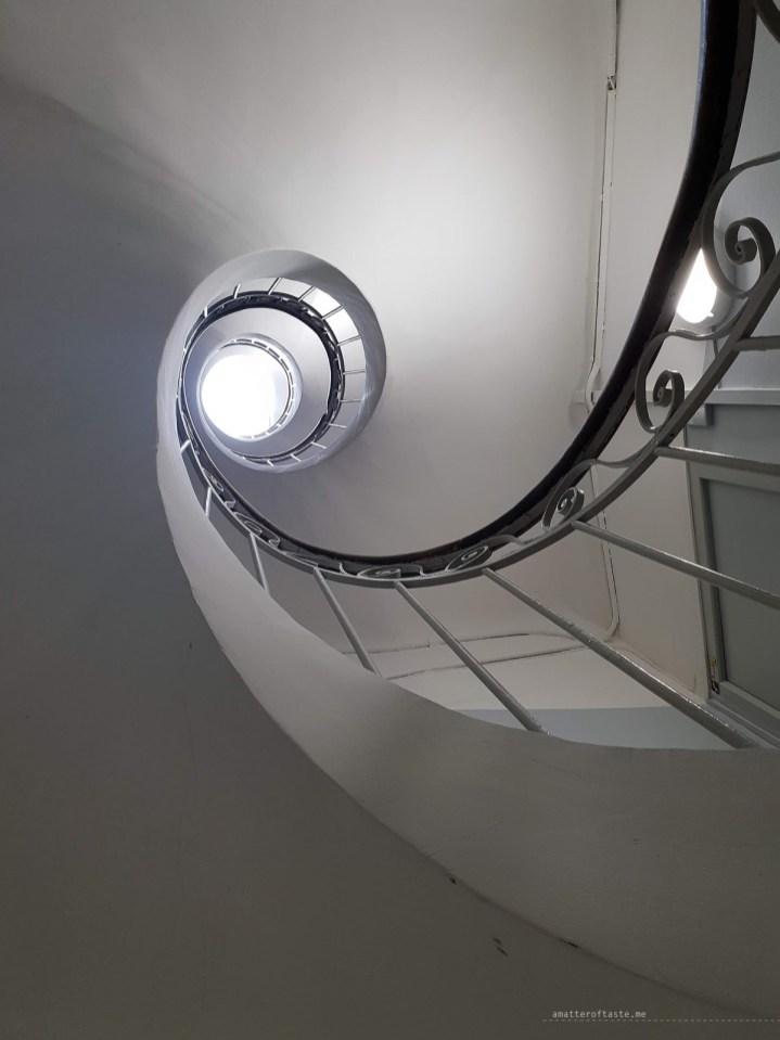 Marseille staircase
