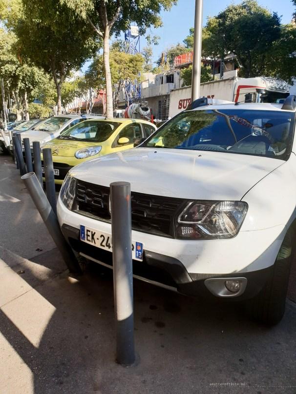 Marseille traffic parking