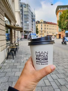 Munich coffee take away