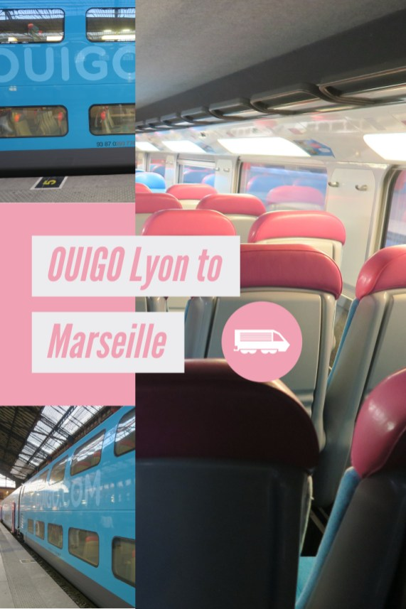 OUIGO train Lyon to Marseille