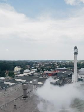 Radegast Brewery tour view