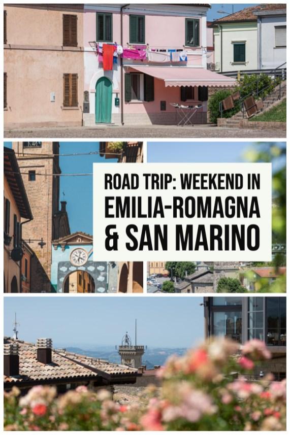 Road trip- weekend in Emilia-Romagna & San Marino