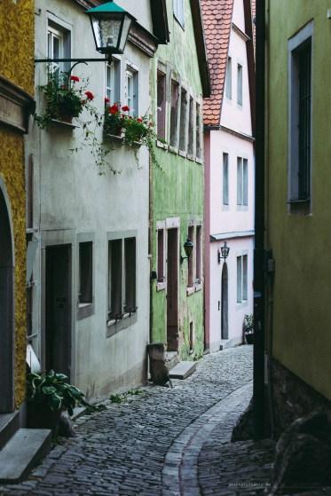 Rothenburg ob der Tauber street