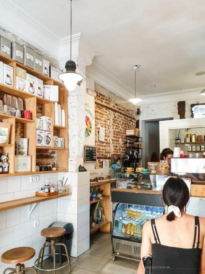 interior of the Ruda Cafe.