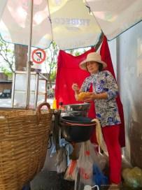 Saigon district 4 street food vendor