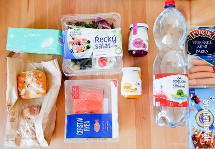 Shopping grocery Prague