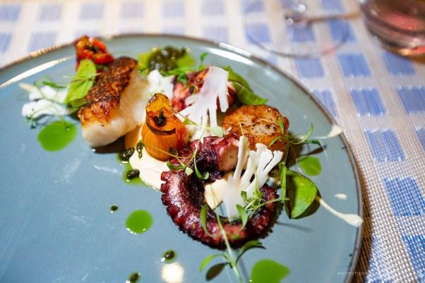 Sofitel Kuala Lumpur Damansara Nizza restaurant cod octopus