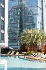 Sofitel Kuala Lumpur Damansara pool palm trees