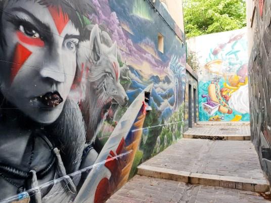 Street Art in Marseille alleways