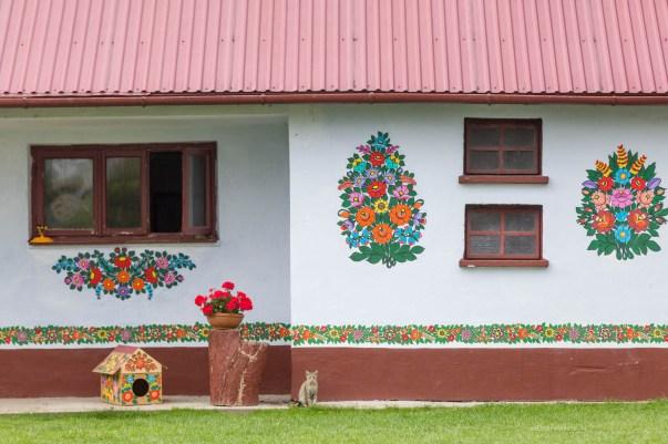 Zalipie-the most colourful village in Poland -4