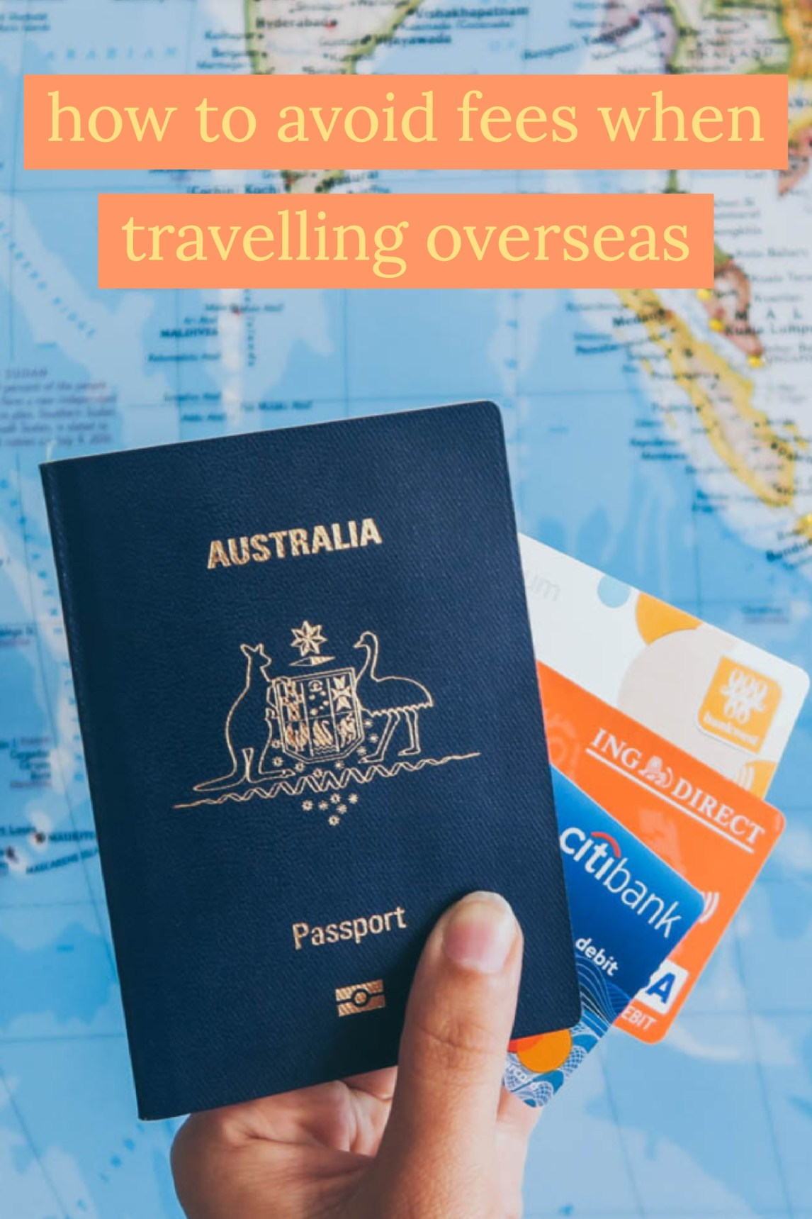 avoid fees travelling overseas