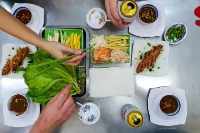 hcmc saigon food rolls