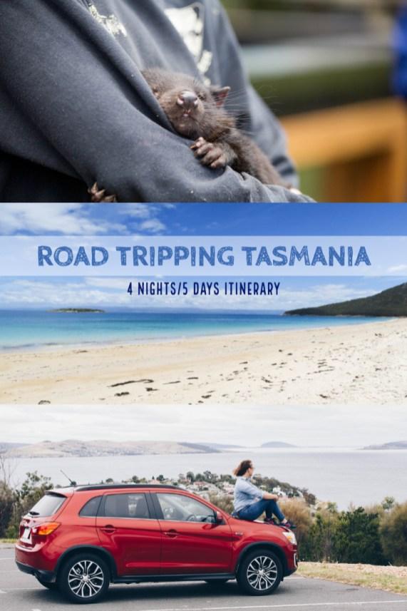 road trip tasmania 5 days itinerary