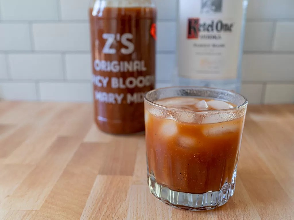 Z's Original Spicy Bloody Mary Mix