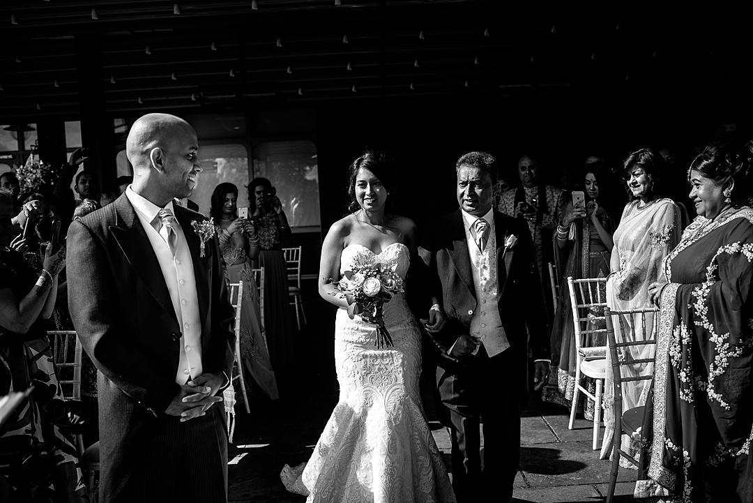 The Ceremony The Mere Wedding PhotographySneak Peek
