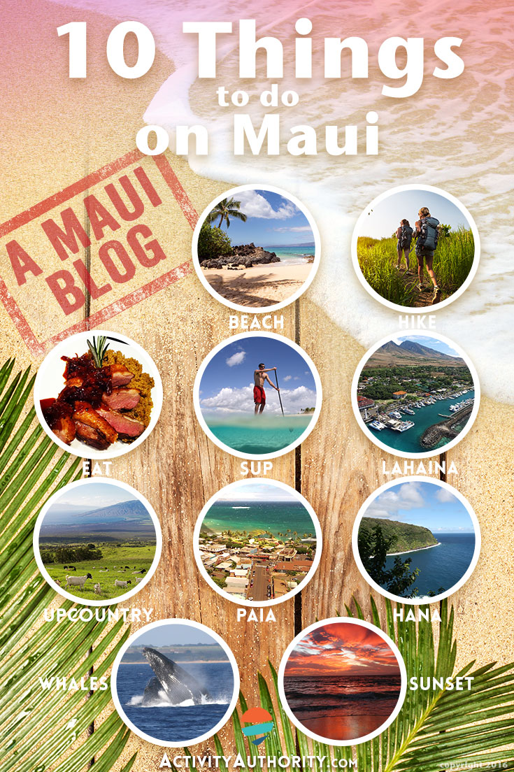 10 things to do on Maui