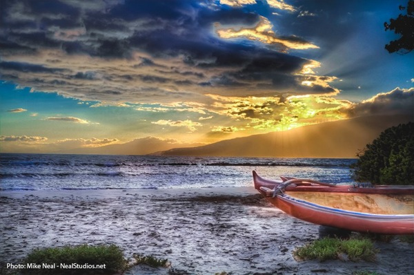 Maui Sunset by Mike Neal