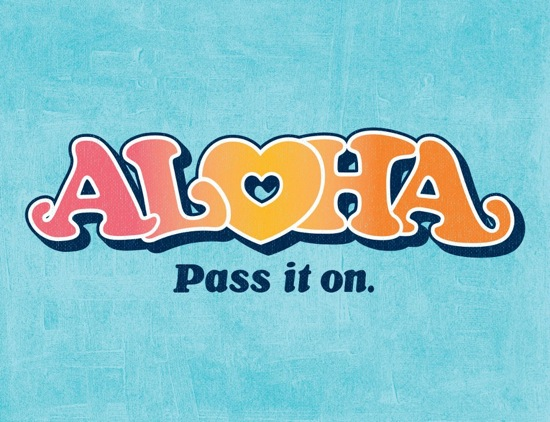 Aloha - Pass It On - 1