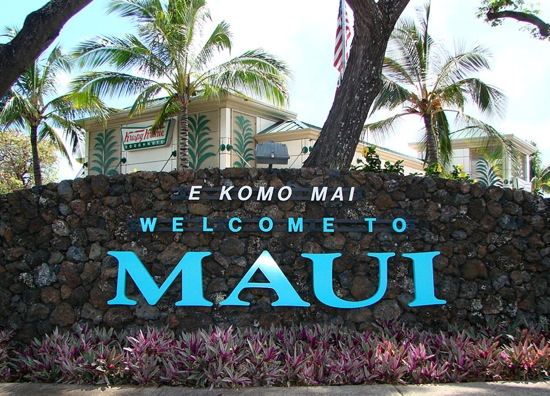 welcome to Maui vacation