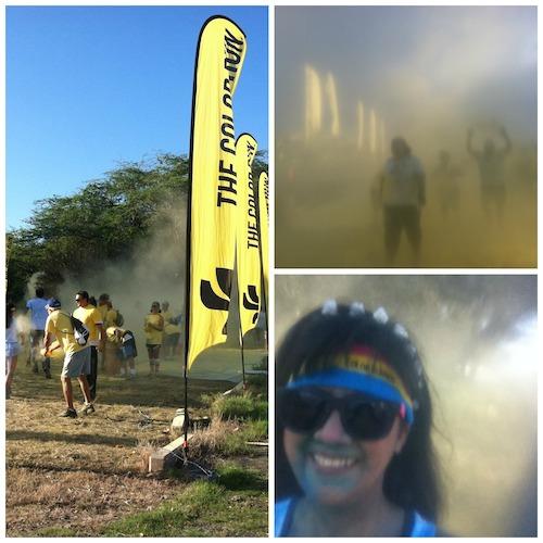 Color Run Maui 2014 - Yellow