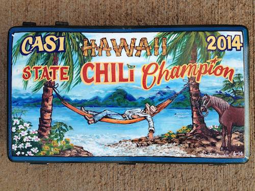Poster Chili champsionship Maui