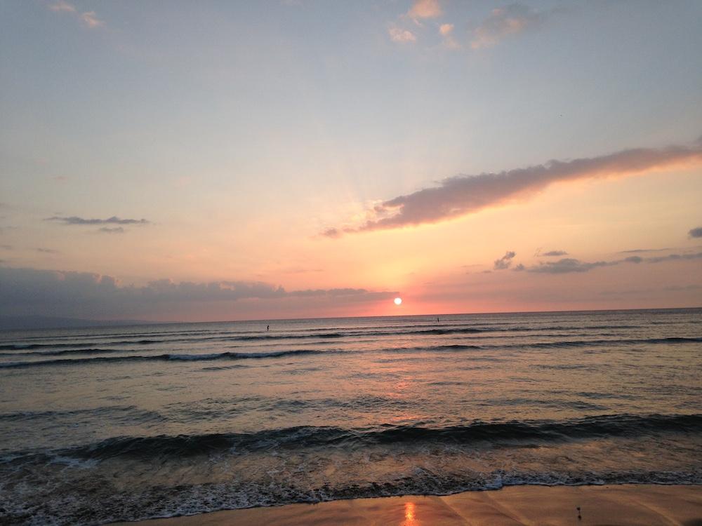 Kalama Beach Park Maui Sunset 1