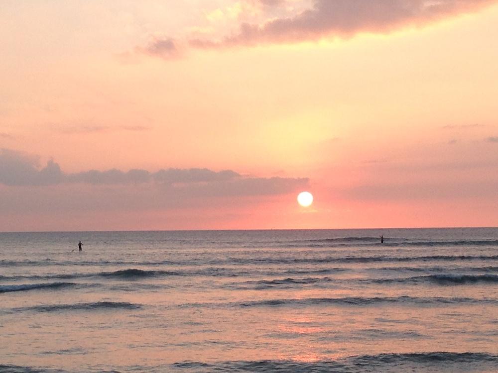 Kalama Beach Park Maui Sunset 2