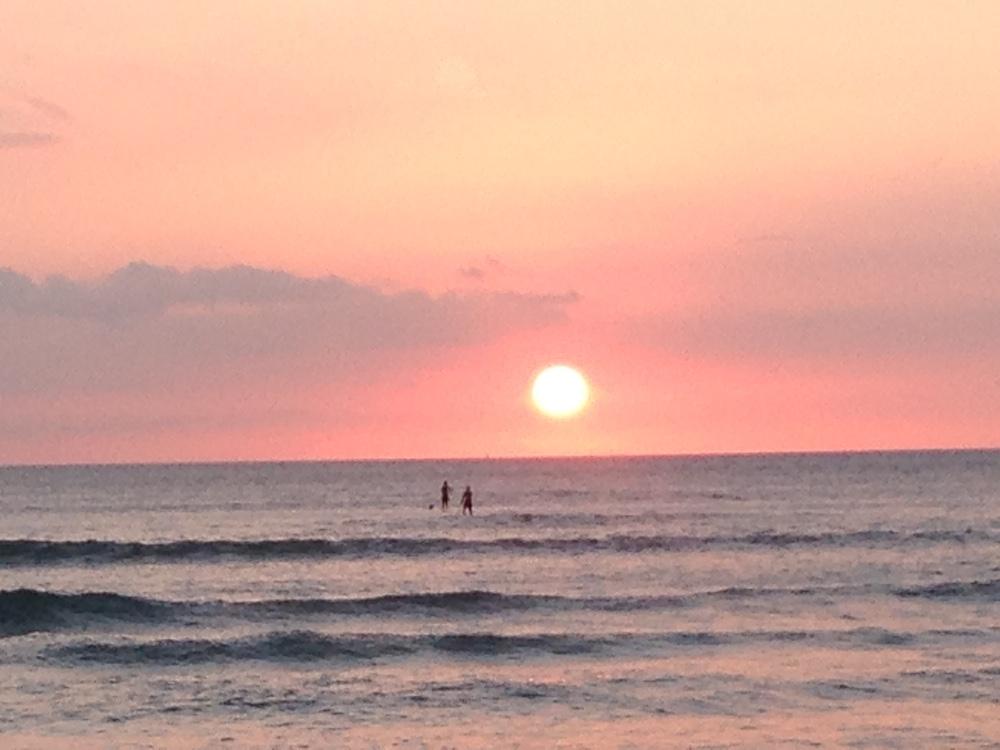 Kalama Beach Park Maui Sunset 4