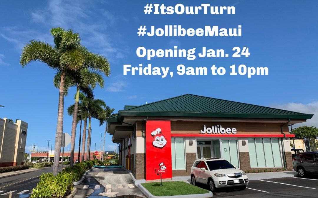 Jollibee Maui Hawaii