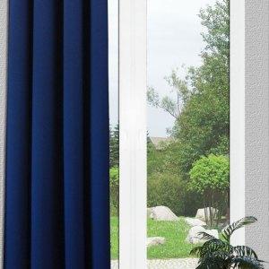Verdunklungsgardine Sunout blau Reihband