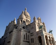 My Heart belongs to Paris and Sacré Cœur was at its finest on this lovely day in Autumn when I snapped this picture.