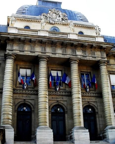 Liberté, Égalité, Fraternité - the cornerstones of French society.