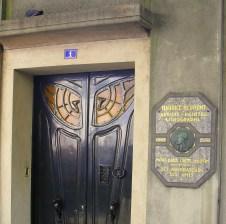 Spiderweb door