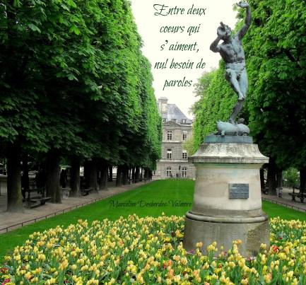Jardin de Luxembourg quote