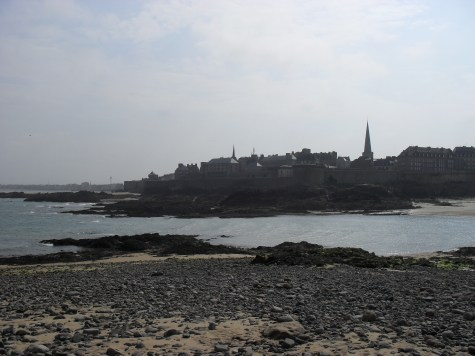St Malo in shade