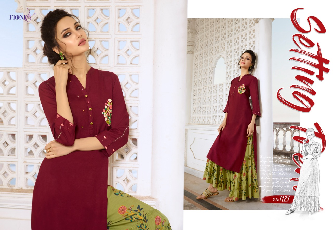 86e622497a CHARMIE BY FIONISTA BEAUTIFUL KURTI WITH PALAZZO COLLECTION WHOLESALE PRICE  SURAT. DOWNLOAD ZIP