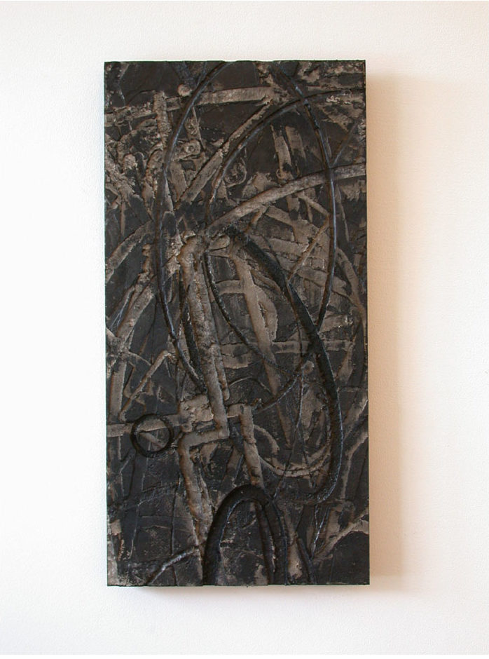 Flatwork 7, Untitled #20, mixed media, 2003