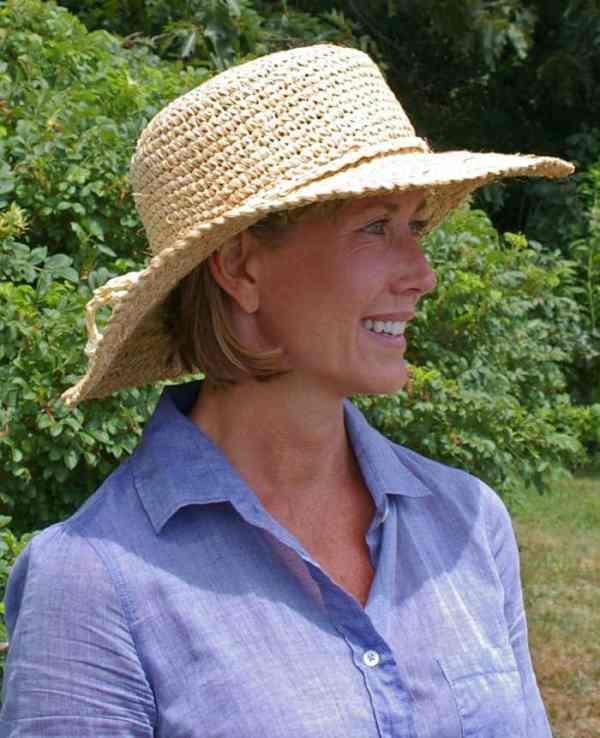 hats hot weather gardening